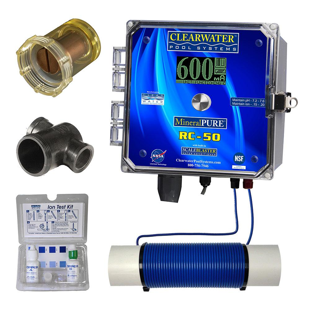 Mineral Pure 50,000 Gal. Residential Swimming Pool Ionizer