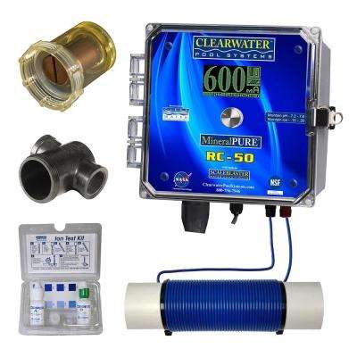 50,000 Gal. Residential Swimming Pool Ionizer