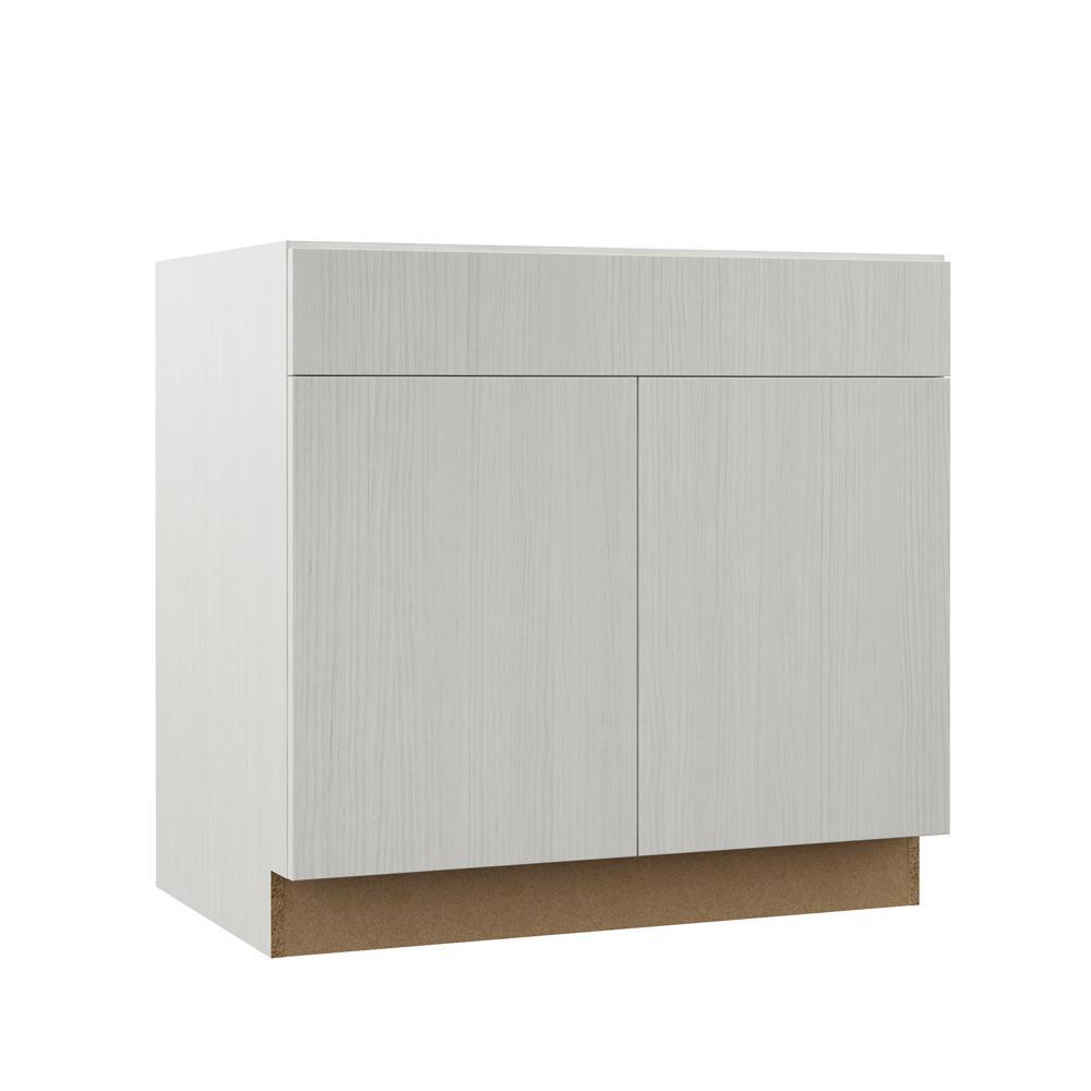 Edgeley Assembled 36x34 5x23 75 In Base Kitchen Cabinet In Glacier