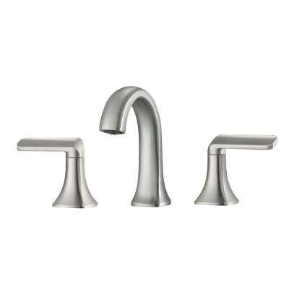Arezzo 8 in. Widespread 2-Handle Bathroom Faucet in Brushed Nickel
