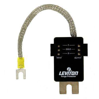9.6-Volt DC Communication Module Blue Hose Network Surface Mounted 3-Pin Header Wired Surge Protective Device, Black