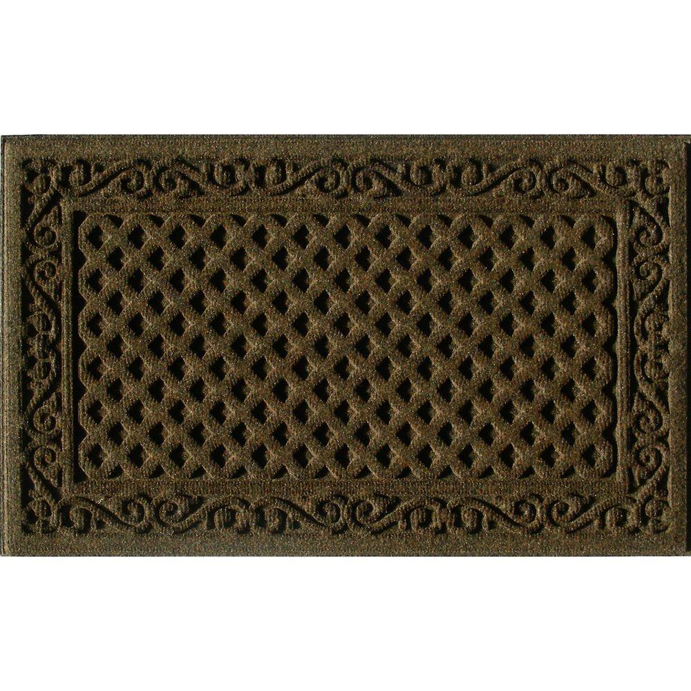 Trafficmaster Brown 18 In X 30 In Door Mat 60 883 1403