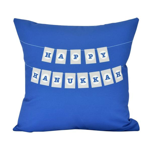 20 in. Banner Day Indoor Decorative Pillow PHW981BL20-20