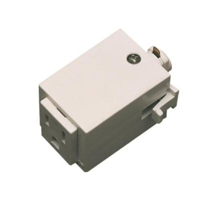 1.5 in. White Plastic Outlet Adaptor