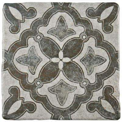 Costa Cendra Decor Clover 7-3/4 in. x 7-3/4 in. Ceramic Floor and Wall Tile (11.5 sq. ft. / case)
