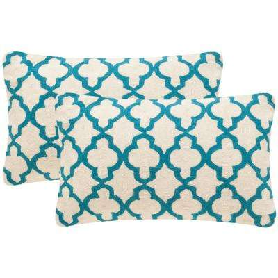 Sandre Chainstitch Pillow (2-Pack)