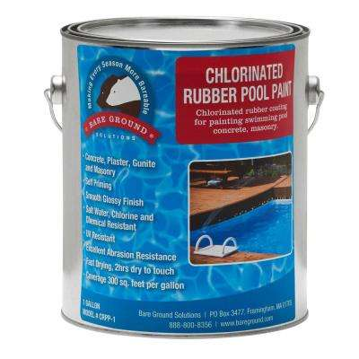 1 gal. Chlorinated Rubberized Pool Paint