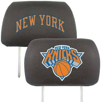 NBA - New York Knicks Mesh 13 in. x 10 in. Head Rest Cover