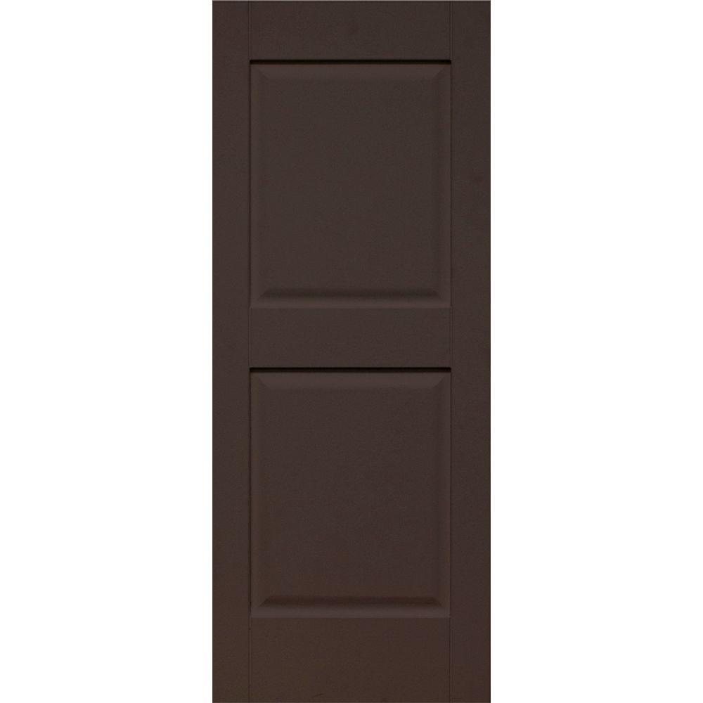 14 in. x 29 in. Panel/Panel Behr Bitter Chocolate Solid Wood