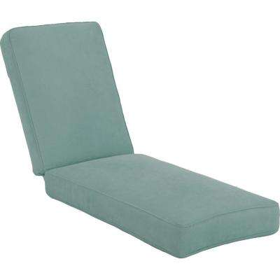 Lily Bay Lake Adela Surf Replacement Outdoor Chaise Lounge Cushion