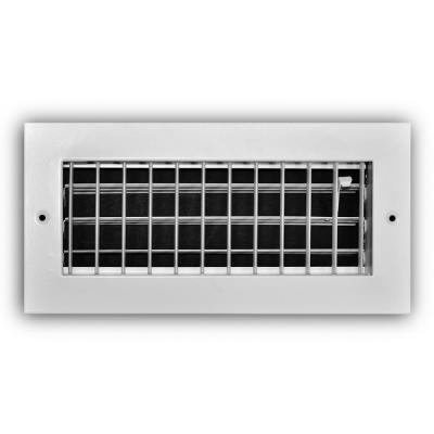 Everbilt 10 in  x 4 in  2-Way Wall/Ceiling Register-E102M