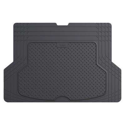 Gray Durable Heavy Duty 53 in. x 36 in. Rubber Cargo Mat