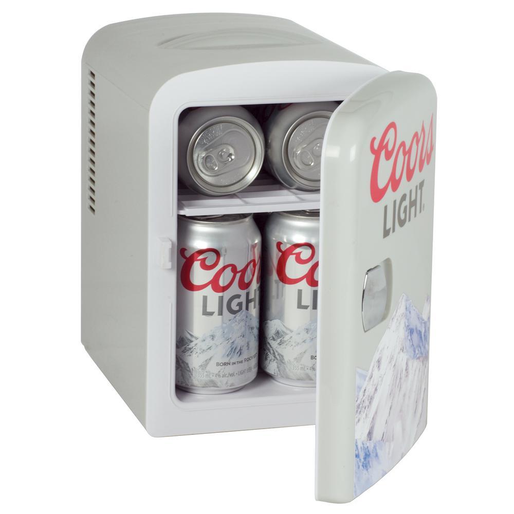 "COORS LIGHT 4.5/"" REFRIGERATOR MAGNET BOTTLE OPENER"