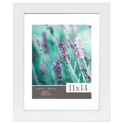 Float 8 in. x 10 in. White Picture Frame
