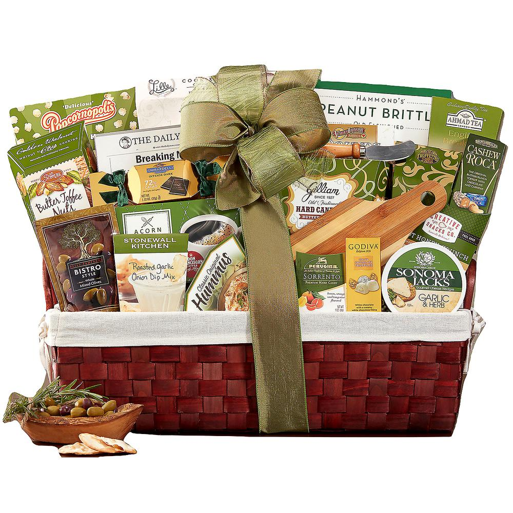 Our Sincere Condolences Sympathy Gift Basket  sc 1 st  The Home Depot : wine country gift baskets - princetonregatta.org