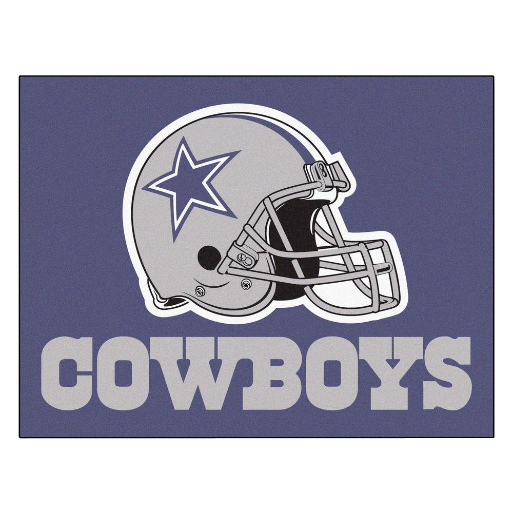 Dallas Cowboys 19 in. x 30 in. Accent Rug