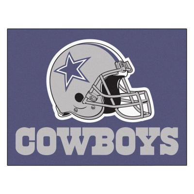 NFL Dallas Cowboys 19 in. x 30 in. Starter Mat Indoor Accent Rug