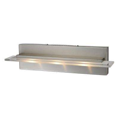 Linton 3-Light Satin Nickel Wall Mount Bath Bar Light