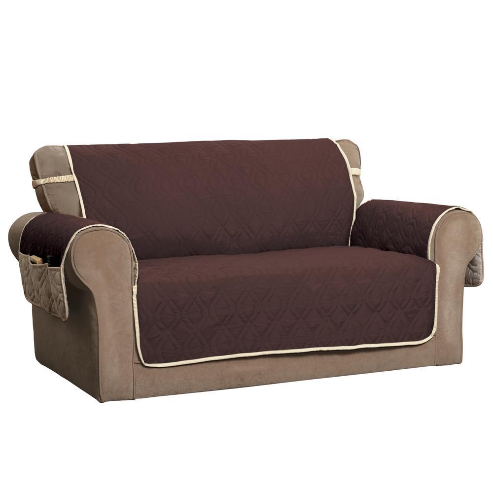 Innovative Textile Solutions ''5 Star Chocolate XL Sofa Protector'' 9381XLSOCHOC/IVO