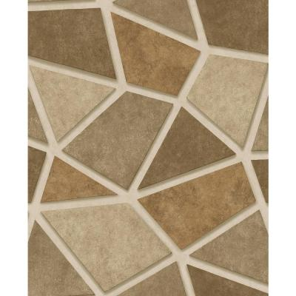 Coty Gold Mosaic Wallpaper Sample