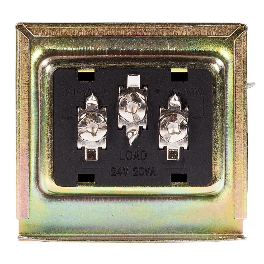 Wired Door Bell Tri-Volt Transformer Compatible with All Video Door Bells