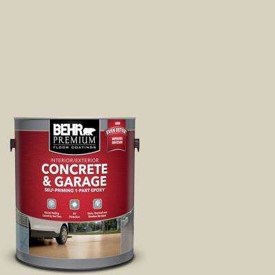 1 gal. #PFC-31 Traditional Tan Self-Priming 1-Part Epoxy Satin Interior/Exterior Concrete and Garage Floor Paint
