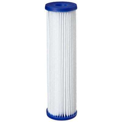 R50 9-3/4 in. x 2-5/8 in. Pleated Polyester Water Filter