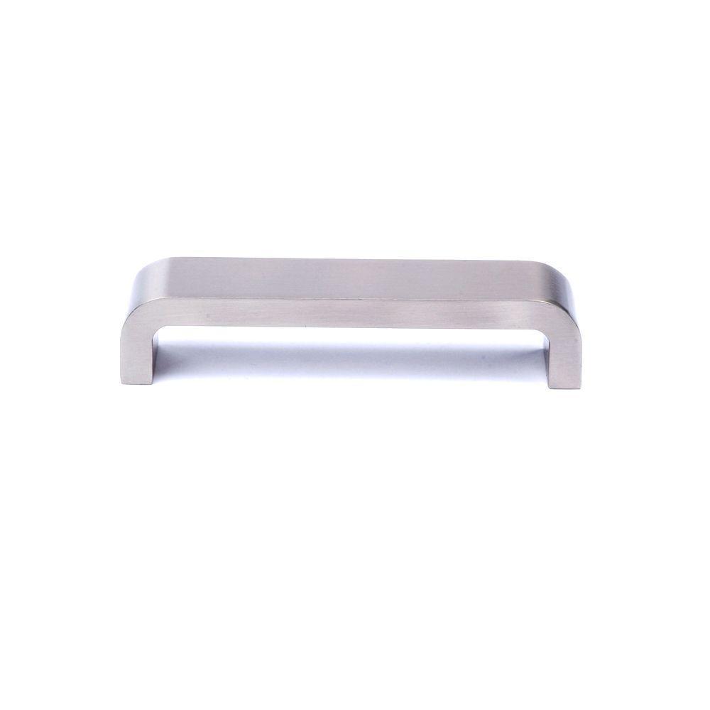 Rish Irlandesa 5.04 in. Satin Nickel Cabinet Hardware Pull-DISCONTINUED