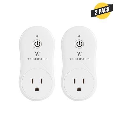 Smart Plug Compatible with Alexa for your Smart Home, no Hub Required, Simple Plug and Play Smart Socket (2-Pack)