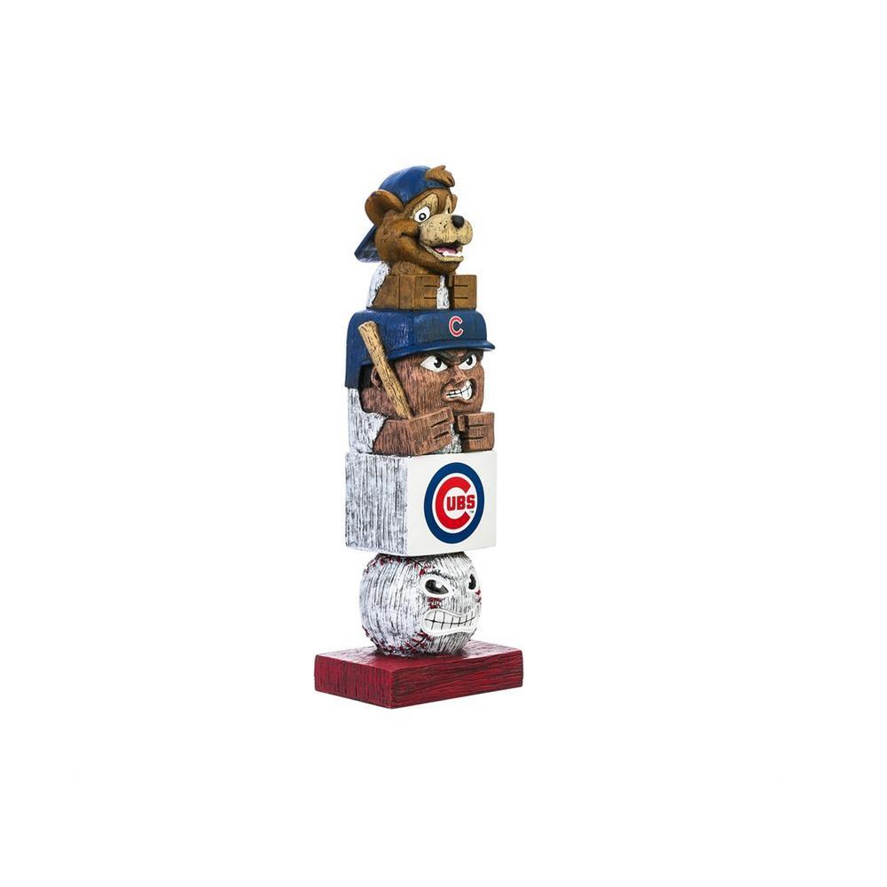 Chicago Cubs Tiki Totem Garden Statue