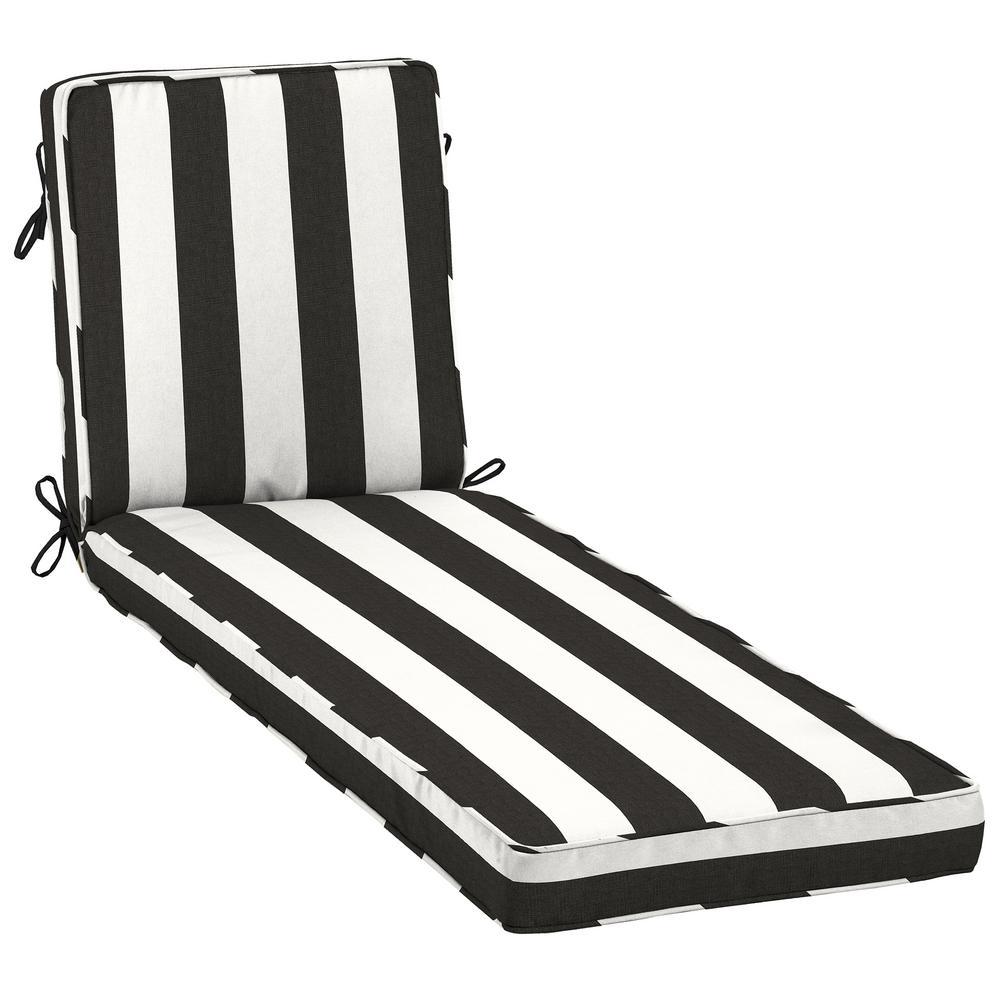 23 x 80 Sunbrella Cabana Classic Outdoor Chaise Lounge Cushion
