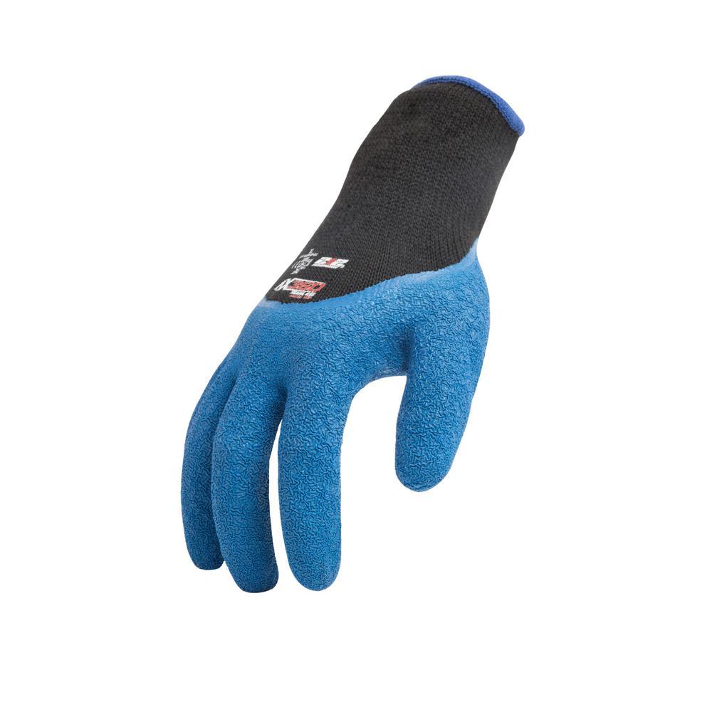 X-Large Latex-Dipped Crinkle Grip Glove (12-Pair/Pack)