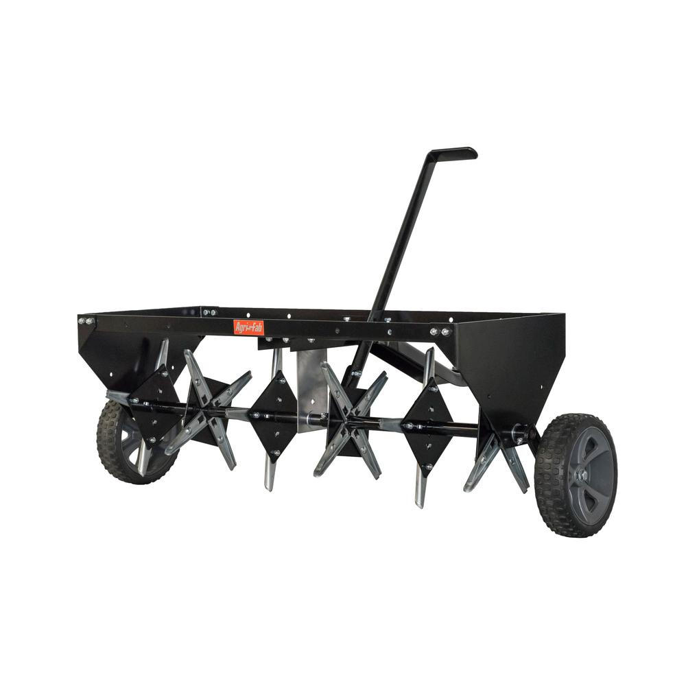 Riding Lawn Garden Tractors Tow-Behind Plug Aerator Single Lever 40 in