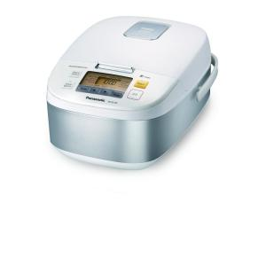Panasonic 5-Cup Microcomputer Controlled Rice Cooker in Stainless Steel and... by Panasonic