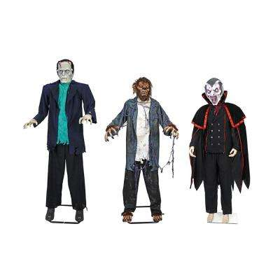 Set of 3 Classic Monster Set with IR Interactivity