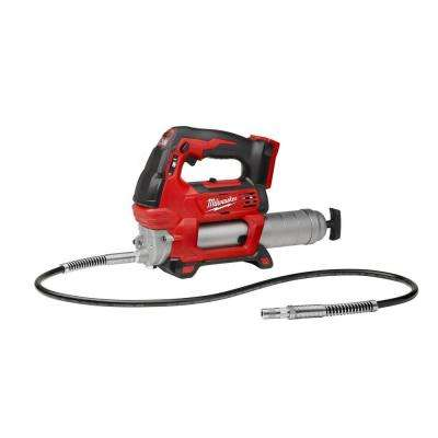 M18 18-Volt Lithium-Ion Cordless Grease Gun 2-Speed (Tool-Only)