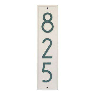 Delaware Modern Personalized Rectangle Vertical Wall Plaque