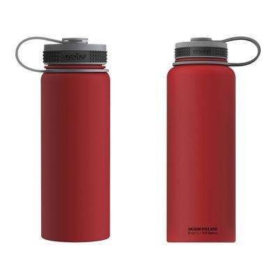 40 oz. and 18 oz. Red Flask Kit