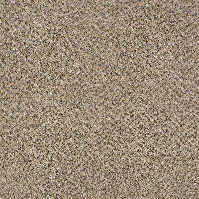 Carpet Sample - Wholehearted II - Color Crystal Sand Twist 8 in. x 8 in.