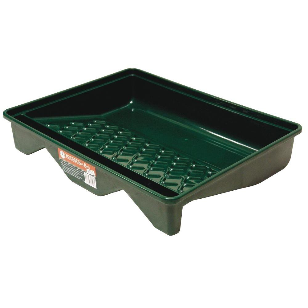 Wooster 18 in. x 21 in. Polypropylene Big Ben Tray for Rollers