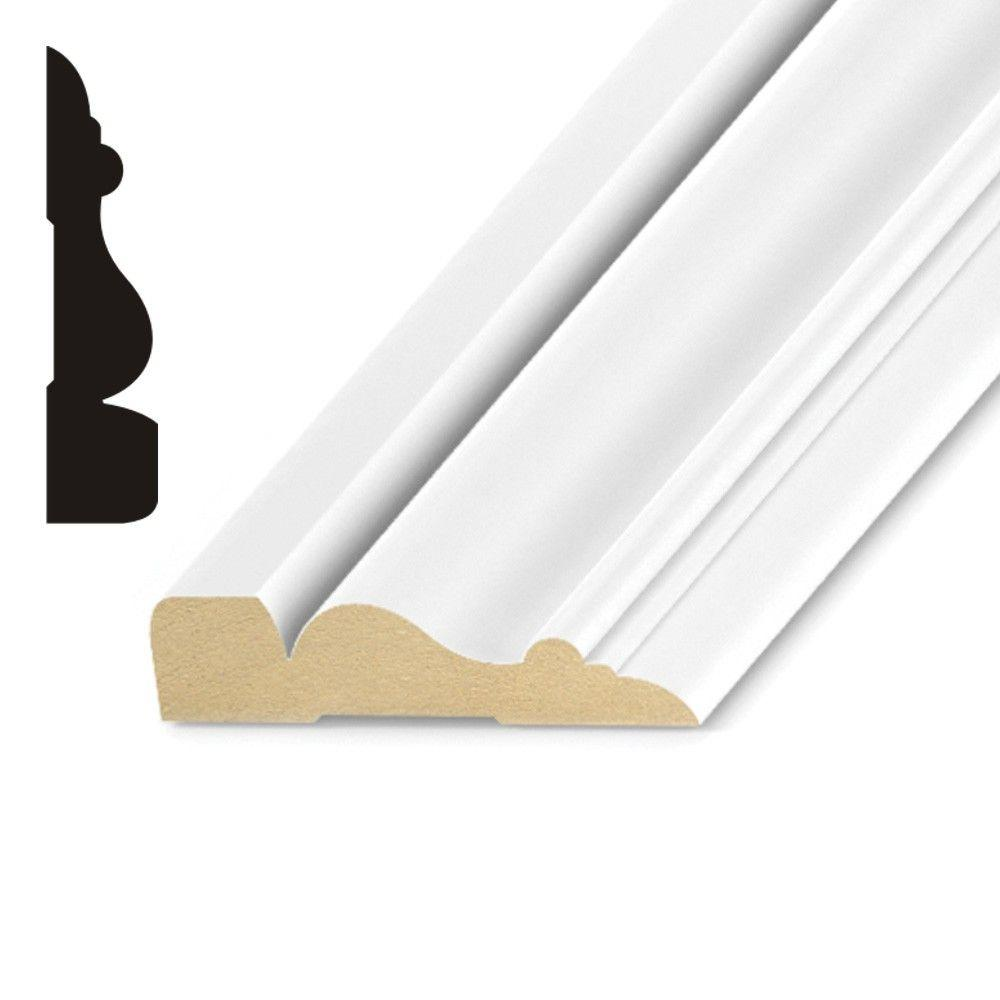 Kelleher Propack Bay Shore 5/8 in. x 2-1/2 in. x 8 ft. 6 in. Primed Wood MDF Casing (12-Pack)