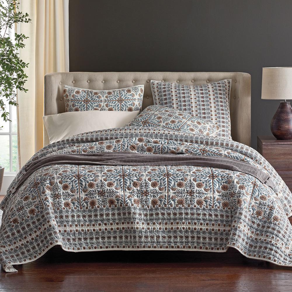 The Company Store Lancaster Multi Cotton King Quilt 50293Q-K-MULTI