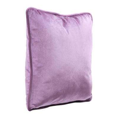 Velvet Purple Decorative Pillow
