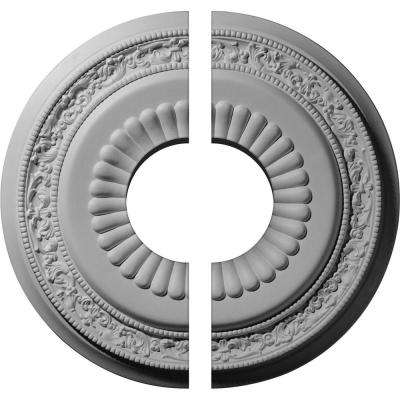 20-5/8 in. x 6-1/4 in. x 1-3/8 in. Lauren Urethane Ceiling Medallion, 2-Piece (Fits Canopies up to 6-1/4 in.)