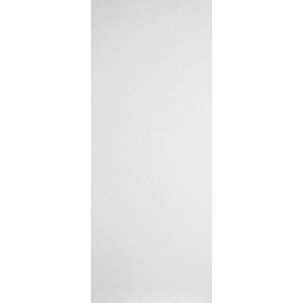 32 in. x 80 in. Primed White Smooth Flush Hardboard Hollow Core Composite Interior Door Slab