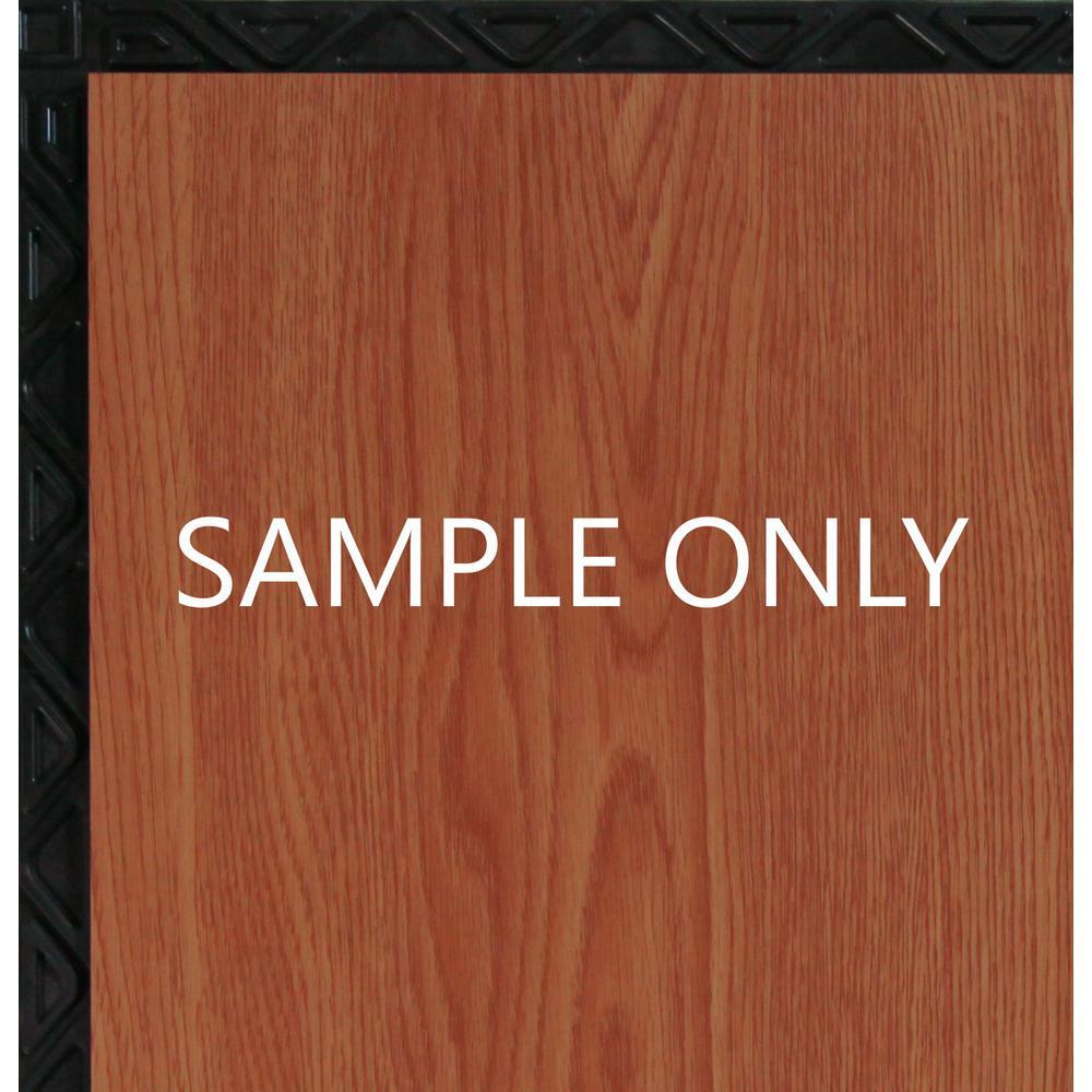 Take Home Sample - Red Oak Resilient Vinyl Plank Flooring - 18.5 in. x 9.25 in.
