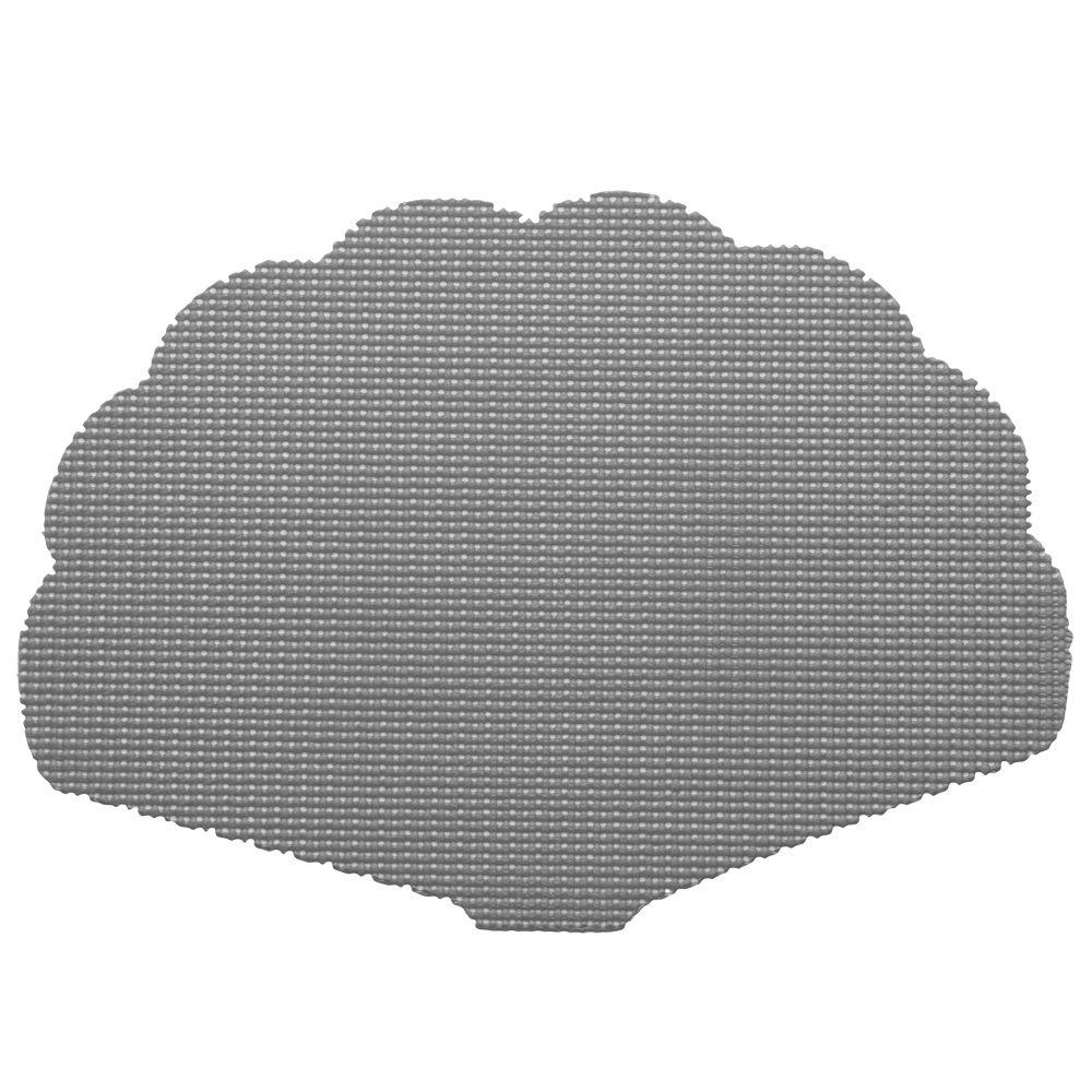 Kraftware Fishnet Shell Placemat in Gray (Set of 12)-DISCONTINUED
