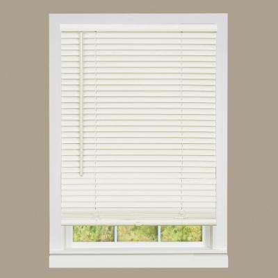 shop wide amazing inch mini deep blinds ivory lewis indoor blind hyman on by vinyl savings radiance