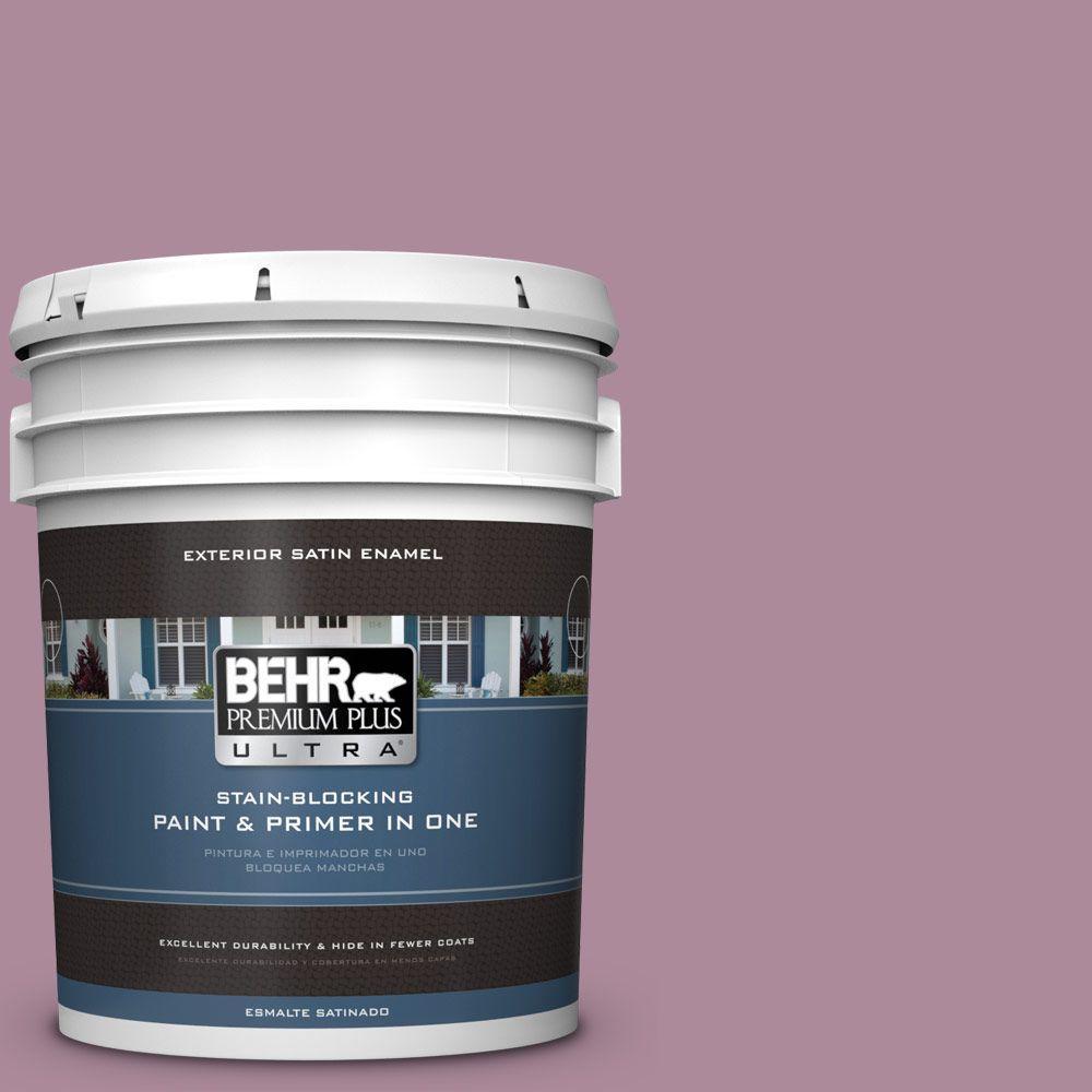 BEHR Premium Plus Ultra 5-gal. #S120-5 Reserve Satin Enamel Exterior Paint