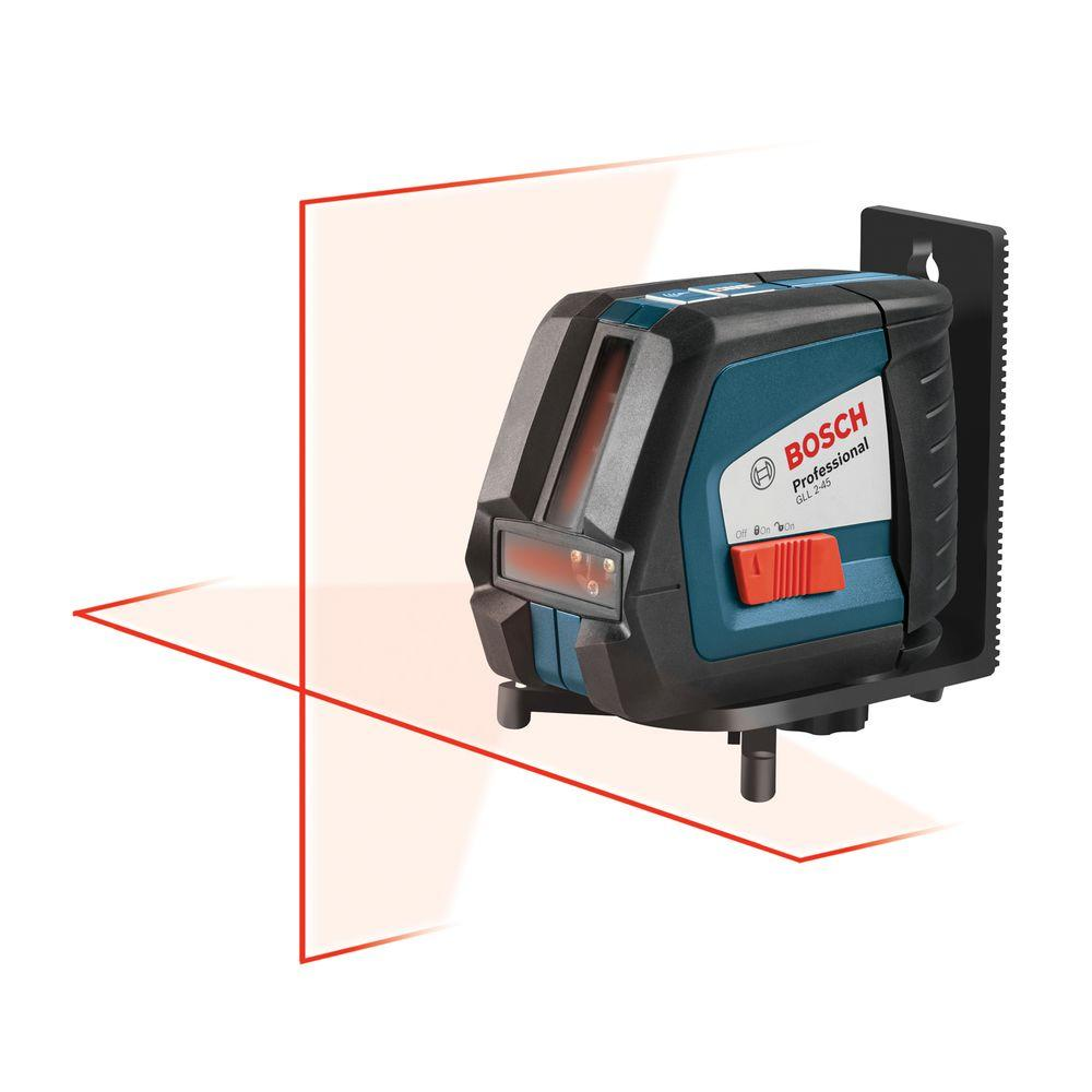 Bosch Self-Leveling Long-Range Cross-Line Laser Level-GLL ...
